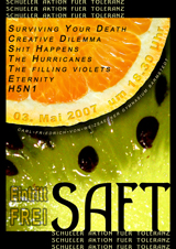 Plakat des SAFT-Events